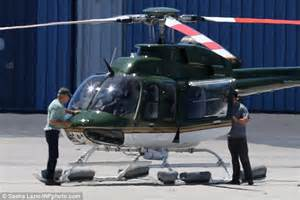 Harrison Ford Helicopter Harrison Ford Performs Checks Before Piloting Helicopter