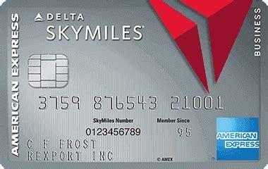 Delta Business Credit Card