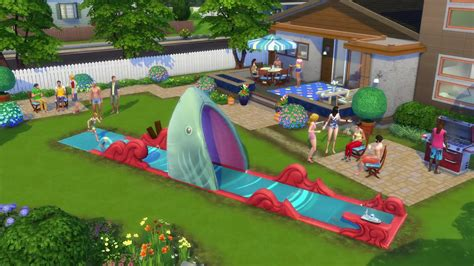 the sims the sims 4 backyard stuff