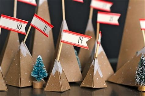 How To Make Paper Mountain - 35 great advent calendar ideas things to make