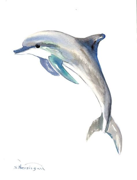 watercolor tattoos dolphin 25 best ideas about dolphins on tribal