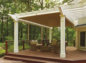 Pergola Canopies Retractable by Showcase Gallery Shadefx Canopies