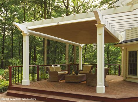 retractable roof pergola home design elements