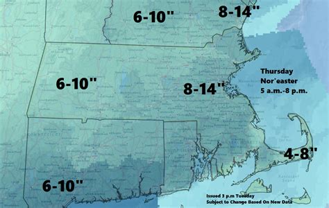 forecast heavy snow coming thursday wbur news