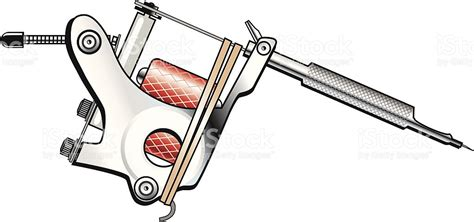 tattoo out liner outliner tattoo machine stock vector art 165489397 istock