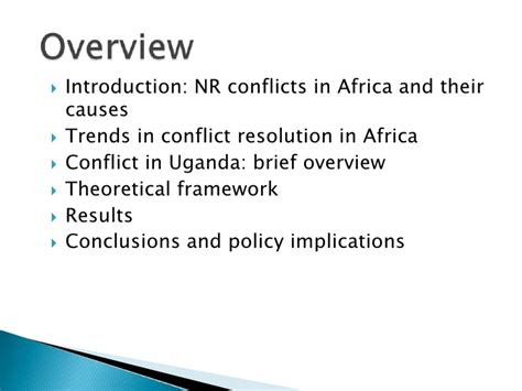 natural resources conflict and conflict resolution looking beyond the obvious uncovering the features of