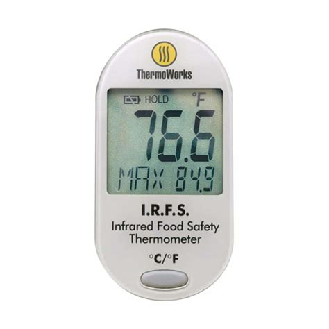 Termometer Safety thermoworks irfs infrared food safety thermometer