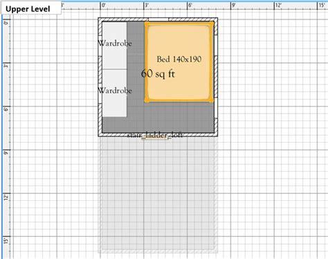 Free Tiny House Floor Plans: 8' x 16' Floor Plan with