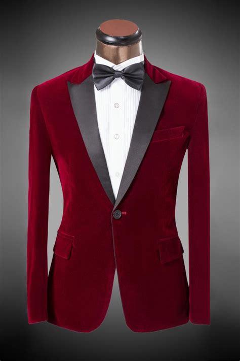 Dress Peak Kembang Merah suit pant 2016 new design s suit bordeaux velvet suit bridegroom wedding dress 5xl s