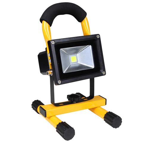 portable led work lights 10w portable cordless work light rechargeable led flood