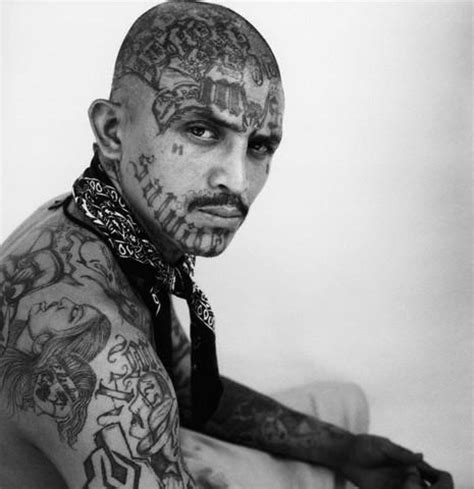 tattoo eyebrows gang marked for death ms 13 18th street tattoos