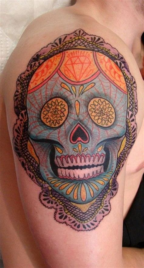 sugar skulls tattoos meaning the meaning sugar skulls go search for