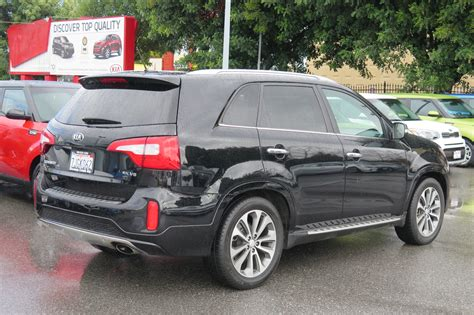 Kia Utility Vehicle 2015 Kia Sorento Sx Sport Utility Cars And Vehicles