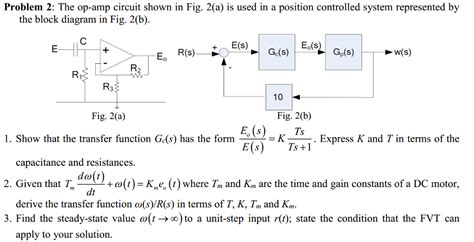 dc blocking capacitor formula the op circuit shown in fig 2 a is used in a chegg