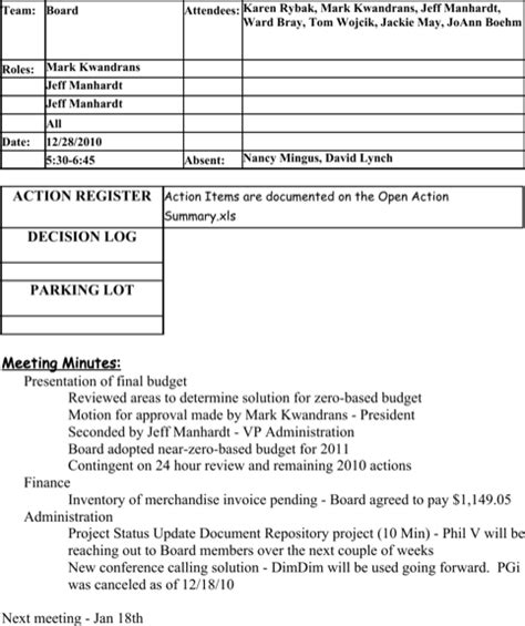 decision log template decision log templates for free formtemplate
