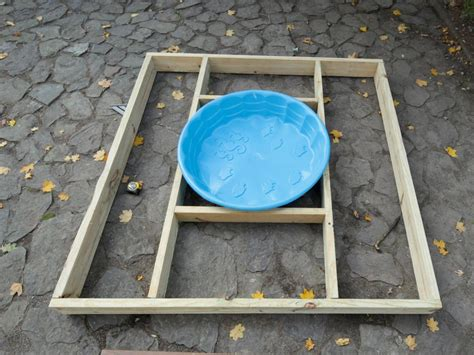build a multilevel deck for a kiddie pool how tos diy