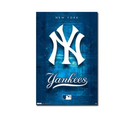 How To Decorate Home Cheap New York Yankees Logo Poster College Dorm Supplies Must