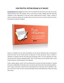 find in by posting resume cv