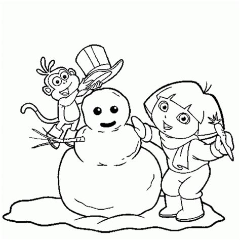 dora christmas coloring pages free printable dora christmas coloring pages coloring home