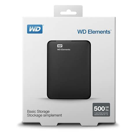 Hdd External Wd Element 500gb Buy Wd Elements 500gb Usb 3 0 Portable External Drive In India At Lowest Prices
