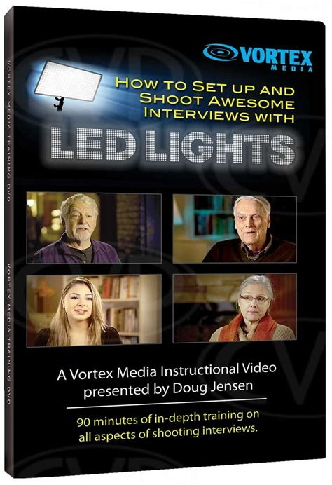 how to set up led lights buy vortex media how to set up and shoot awesome