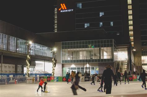 ice house omaha new outdoor ice rink opens in capitol district omaha