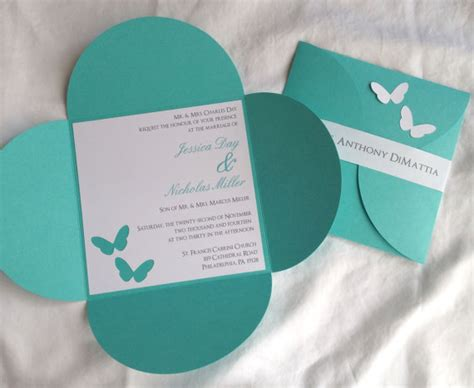 how to make petal fold wedding invitations 6 1 4 x 6 1 4 petal butterfly wedding invitation 2220908 weddbook