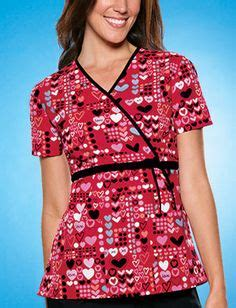valentines day scrubs s day scrubs on scrub tops white