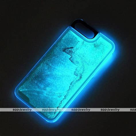 Softcase Disney Tiara Glow In The For Iphone 6g6s glow in dynamic liquid glitter cover skin for iphone 7 plus ebay