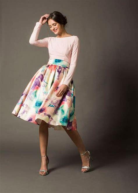 faldas y blusas para bodas 2016 tendencia para invitadas faldas para bodas