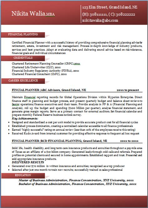 best professional resume format 10000 cv and resume sles with free