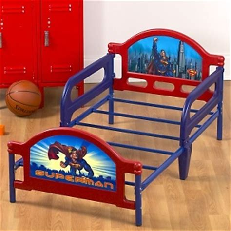 Superman Toddler Bed by Superman 50 Quot L Toddler Bed At Hsn Superman