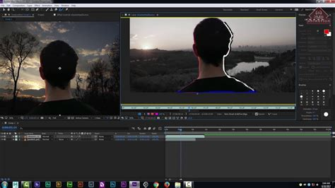 Paket Adobe After Effects Cc Tutorial adobe after effects cc 2017 tutorials roto brush tool refine edge tool