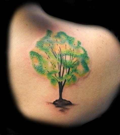 lucky bamboo tattoo tattoos feminine watercolor tree