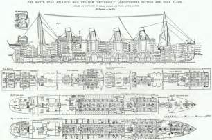 titanic floor plans titanic