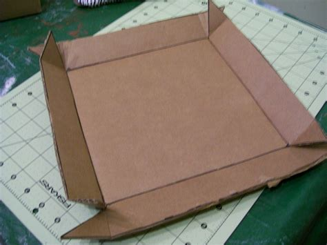 Lidded Box Template by Diy How To Make A Lidded Storage Box With Cardboard Boxes