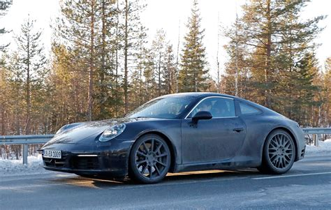 Porsche 911 992 Generation Spy Shots And First Details