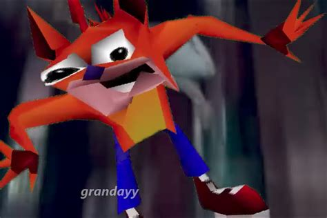 Crash Bandicoot Meme - crash bandicoot s woah is the internet s new obsession