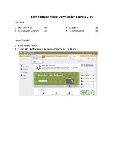 download youtube dengan mudah cara download video dengan mudah menggunakan easy youtube