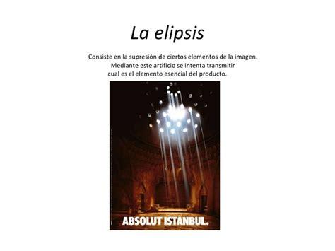 sustitucion de imagenes retoricas figuras basada en la sustituci 243 n elipsis figuras