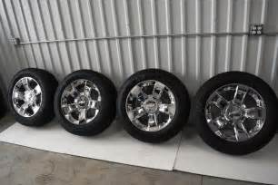 Stock 20 Wheels Chevy Truck Chevrolet 20 Inch Chrome Oem Factory 2015 Wheels And Tires