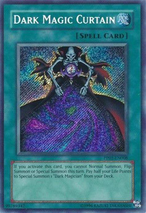2x Dark Magic Curtain Pp01 En008 Secret Rare Nm