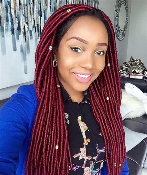 faux dreads on short african american hair 64 best images about faux locs on pinterest faux locs