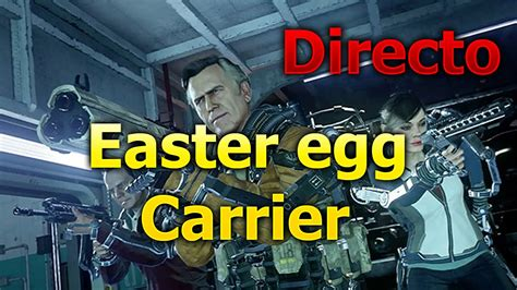 exo zombies carrier easter egg aw exo zombies easter egg carrier en directo y fail final