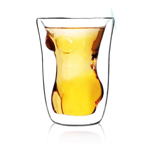 cool glassware latest cool gadgets double walled crystal glass drinking