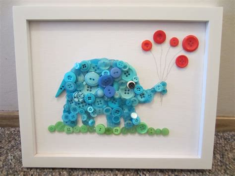 craft projects with buttons button elephant in the room tutorial busted button