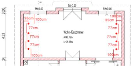 Einbaustrahler Decke Anordnung by Hengda 174 12er 7w Led Spot Einbauleuchte Kaltwei 223 Einbau