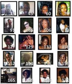 Grim Sleeper Victims Photos by Lapd Posts Pictures Of 42 On Social Media In A Bid To Identify Possible Victims Of Grim