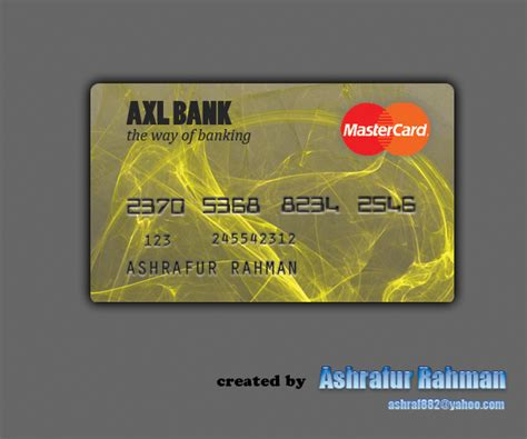 Concept Of Future Credit Card by Credit Card Concept By Ashraf882 On Deviantart