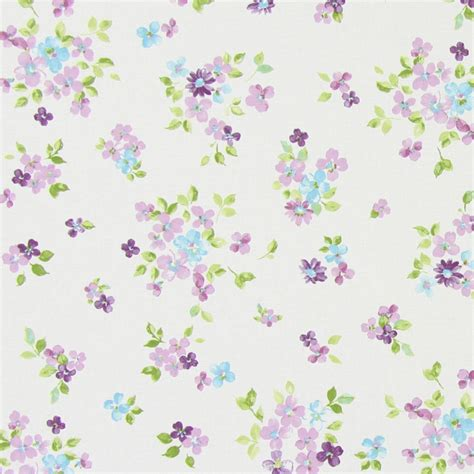 Posie Fabric   Lavender (5862/805)   Prestigious Textiles Butterfly Gardens Fabrics Collection